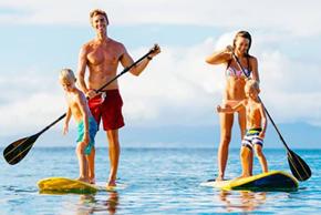 Family Paddle Boarding Toronto