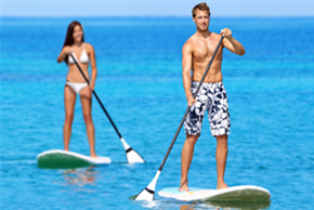 private paddle boarding lessons