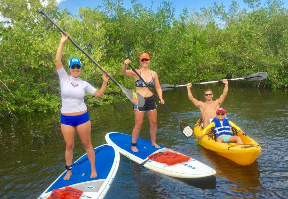 paddle board and kayak rentals