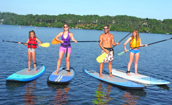 paddle boarding lessons Toronto
