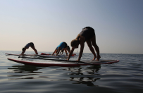 Fluid Yoga (with your Board)